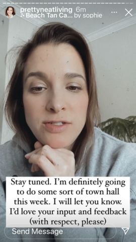 Jen has breakdown on IG, threatens to hold a town hall
