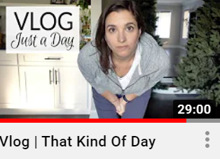 """""""That Kind of Day"""" vlog"""