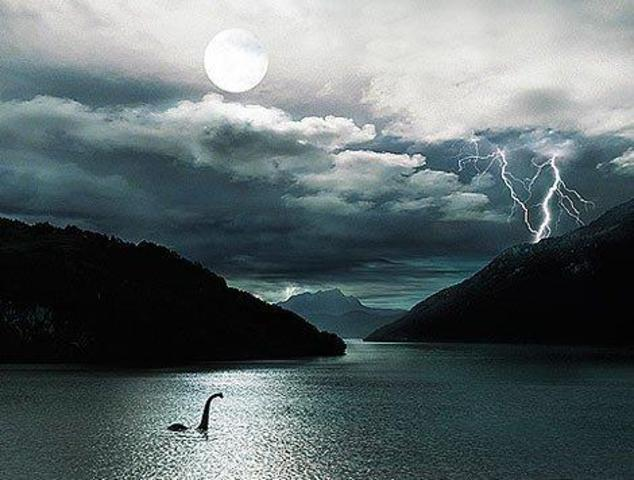 Lochness monster seen in england
