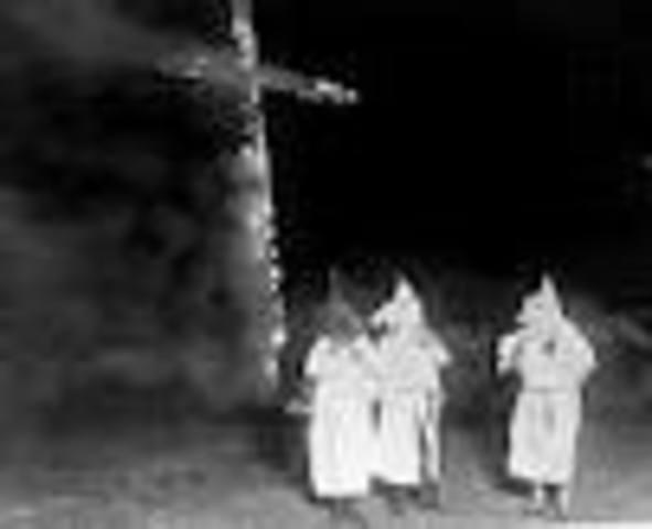 Ku Klux Klan Begins
