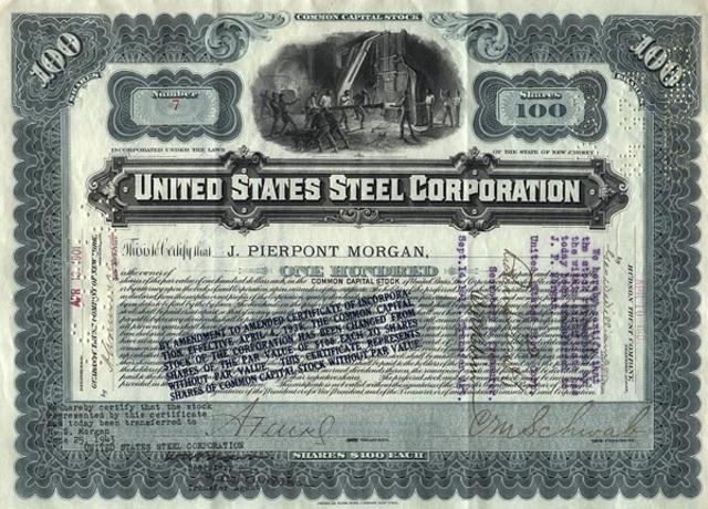 U.S. Steel Corporation antitrust suit