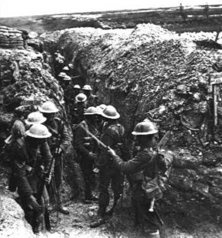 World War I in Europe