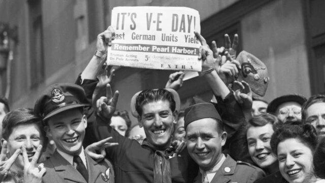 V-E day Victory