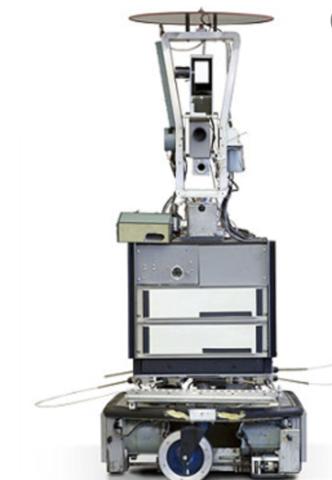 SRI develops Shakey the robot
