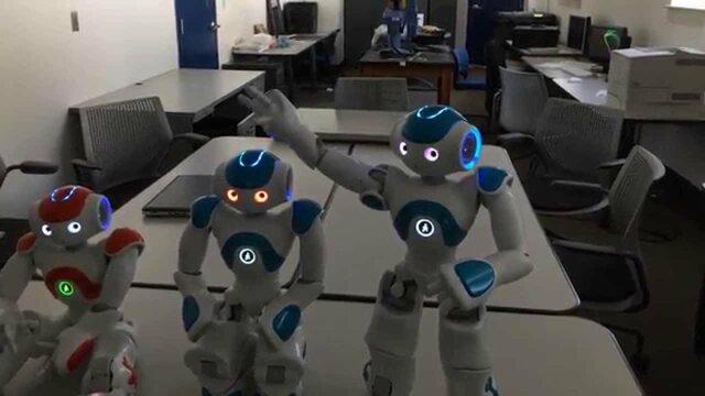 Robot demonstrates self-awareness