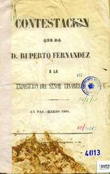 TRIUNVIRATO: JOSÉ MARIA DE ACHA - RUPERTO FERNANDEZ Y MANUEL ANTO