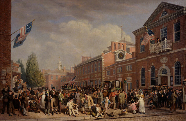 Election Day, 1800