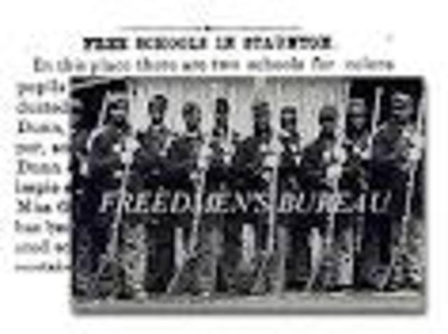 Freedmen Buearu Established