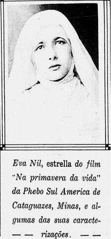 1ª aparição de Eva Nil na Cinearte