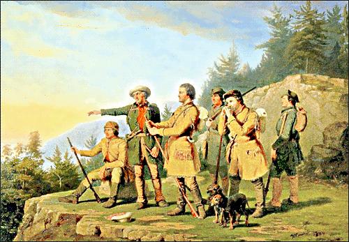 Daniel Boone settles Kentucky