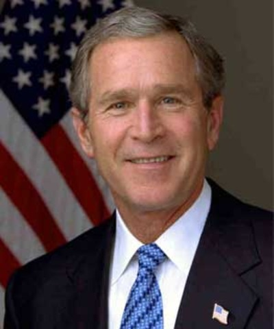 George W. Bush wins election