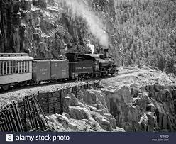 Un tren llegando a Durango