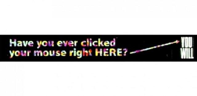 Primer Banner de Publicidad WEB