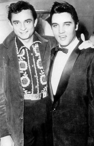 Elvis Presley and Johnny Cash rocked thier way through the fifties