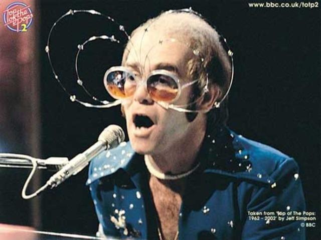Elton John takes America by storm