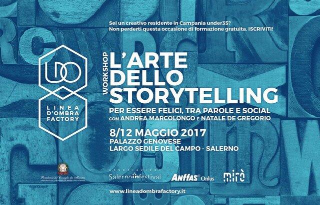 L'arte dello storytelling tra parole e social