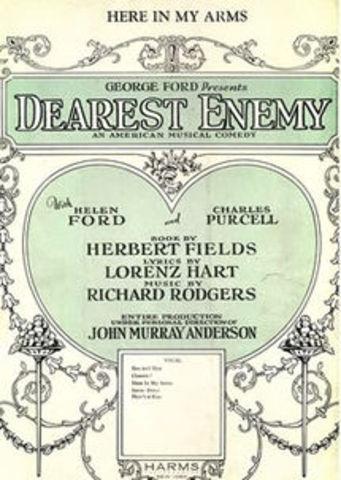 """Rodgers- Opening of """"Dearest Enemy"""""""