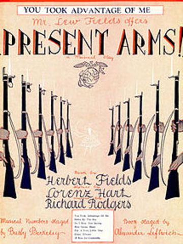 """Rodgers- Opening of """"Present Arms"""""""