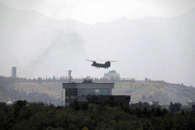 La caida de Kabul