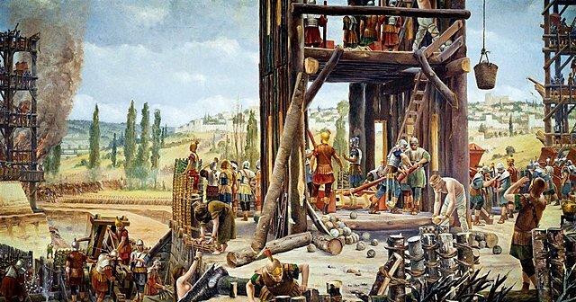 Los Romanos y la logística militar