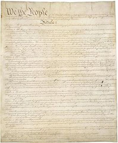 The Constitution was Adopted