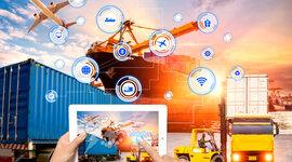 Evolución de la logística  para la gestión optima de las empresas timeline