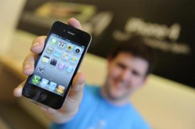 Sale a le venta el iPhone4
