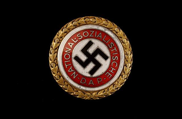 Hitler leads NSDAP