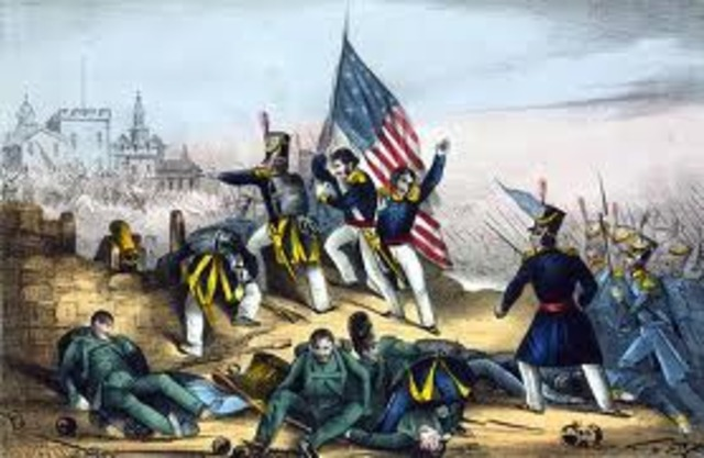 Mexico and United States War ends