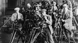Evolución temporal del cine timeline