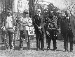 Native Americans granted citizenship