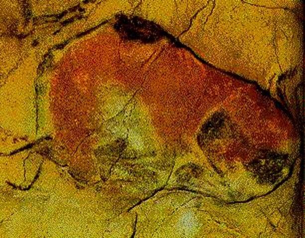 Altamira Cave Paintings, 16.000 bc