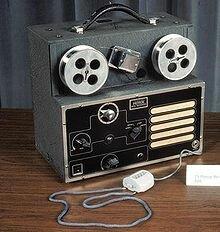 coil tape recorder