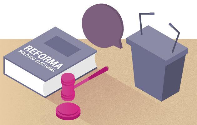Aprueban reforma política electoral