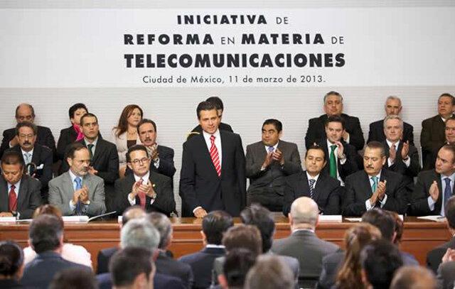 Aprueban reforma en telecomunicaciones