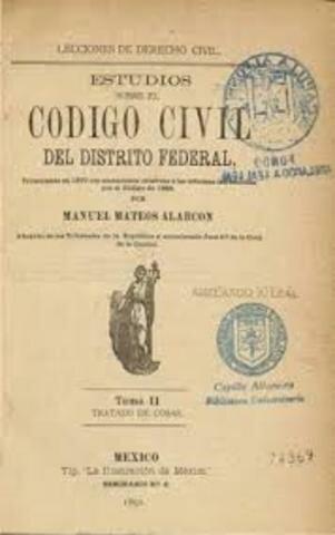 Código Civil en México