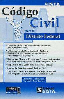 Código Civil para el Distrito Federal