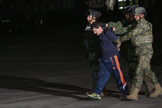 Capturan a El Chapo Guzmán por tercera vez