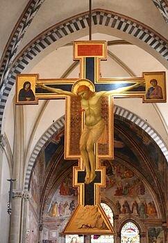 Croce dipinta di Santa Maria Novella