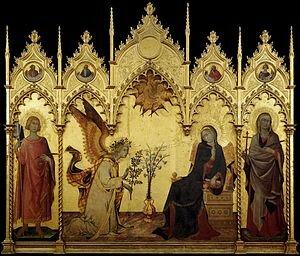 Annunciazione di Simone Martini