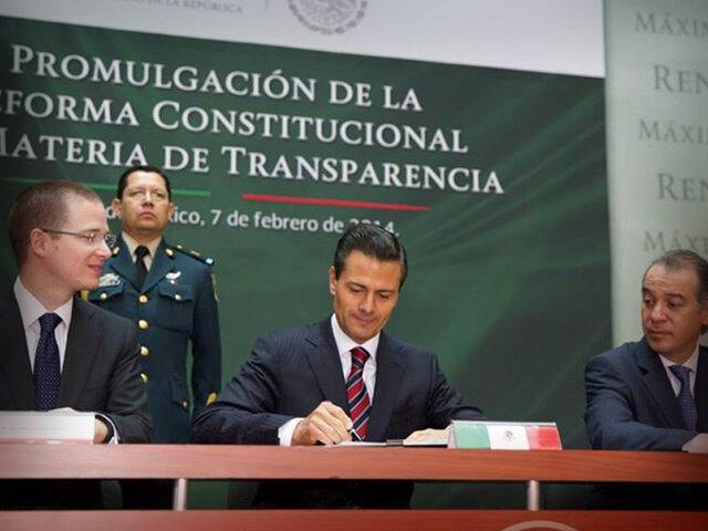 Aprueban reforma en transparencia