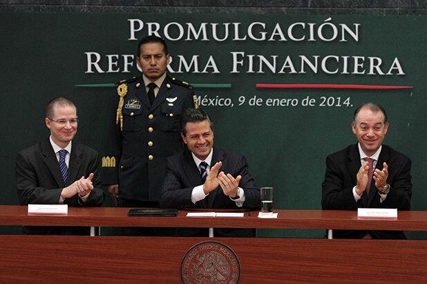Aprueban reforma financiera