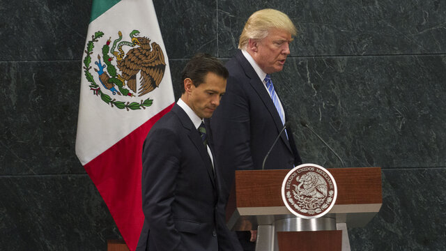 El día que Donald Trump vino a México