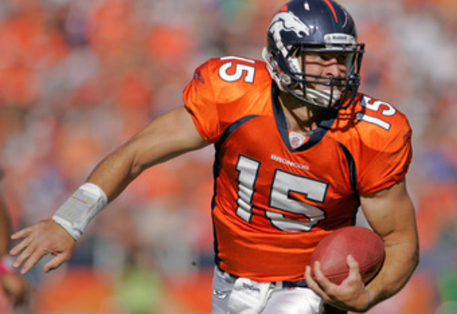 Tebow First NFL TD