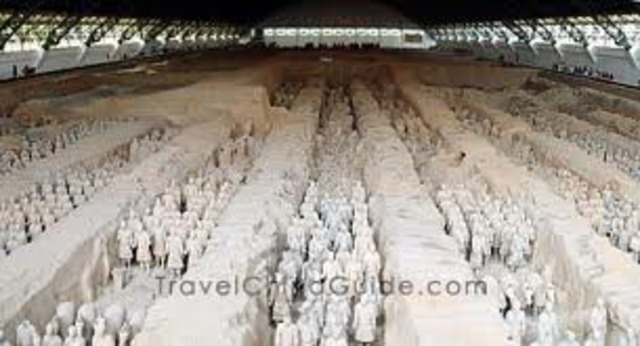 Terra Cotta Warriors of the Qin Dynasty