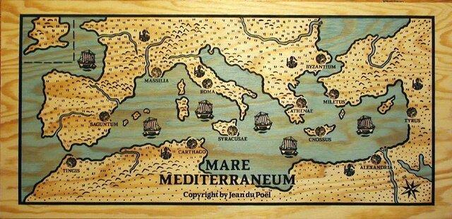 Expansión del imperio romano.