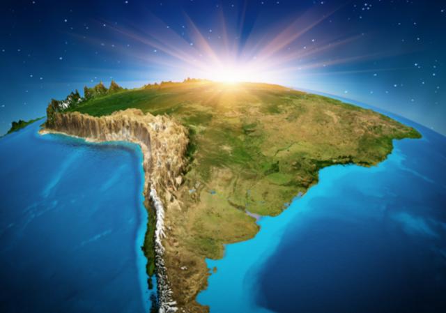 Aspiraciones de un pequeño-Gran continente