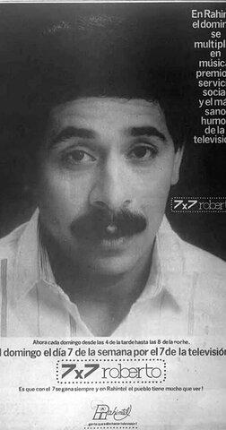7x7 Roberto por Rahintel canal 7