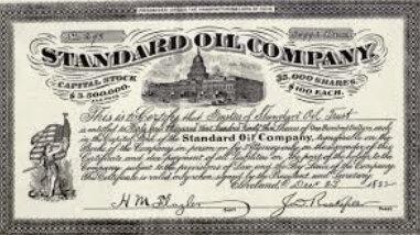 John D. Rockefeller Creates Standard Oil