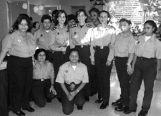 Mujeres en la Policía Nacional